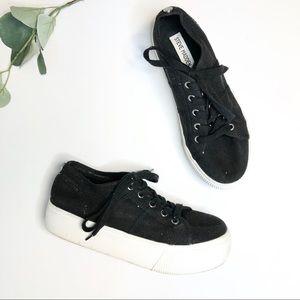 Steve Madden High Platform Black Emmi Sneakers